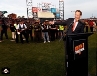 San Francisco Giants, S.F. Giants, photo, 2014, Larry Baer